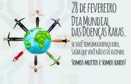 Fevereiro, o mês em que se comemora o Dia Mundial das Doenças Raras