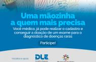 Aberta inscrição para exame diagnóstico gratuito de doenças raras